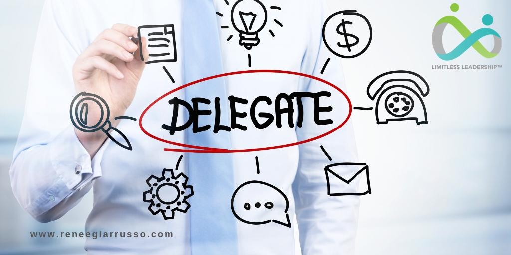 delegate delegation manager leaders letting go