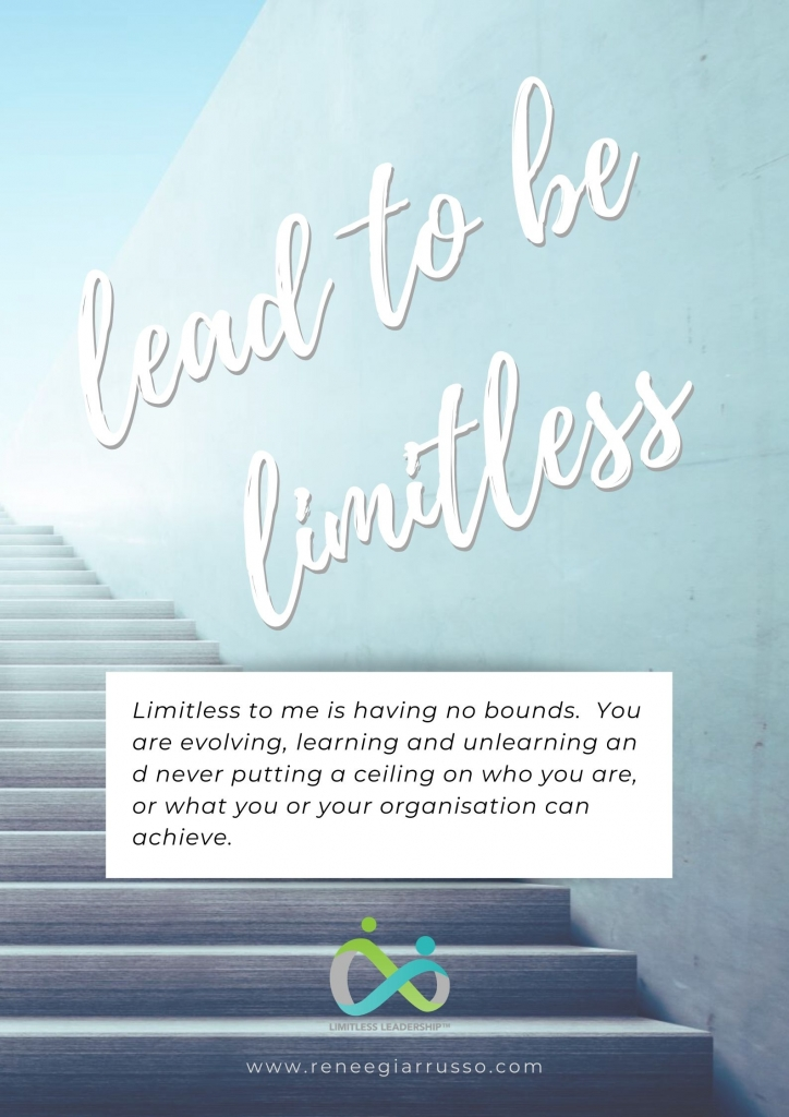 Lead to be limitless poster