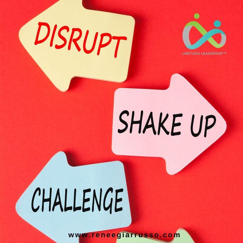 disrupt shake up challenge
