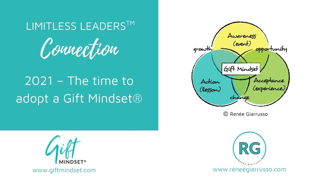 Limitless Leaders™ Connection – 2021 – The time to adopt a Gift Mindset®