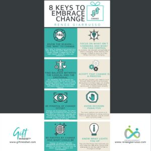 Infographic - 8 Keys to embrace change