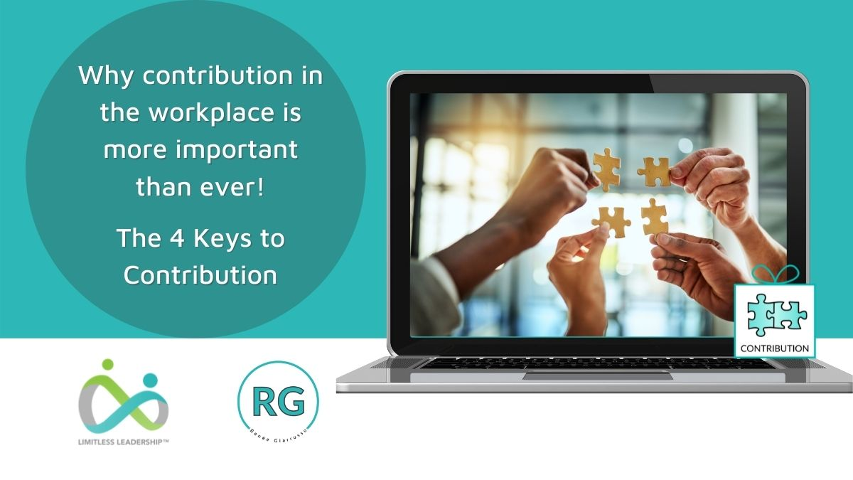 The 4 Keys to Contribution